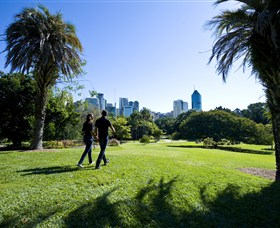 City Botanic Gardens - Accommodation Brisbane